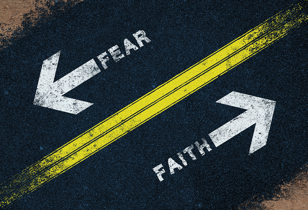 fear vs faith Faith vs fear: what does the bible say  by growing in our faith, fear will find it more difficult to get ahold of us by: heidi joelle heidi joelle is an executive assistant by day and a writer, editor, and reader by night she can be coaxed from the house by the sound of a good adventure or traveling somewhere new her sidekick smokey.
